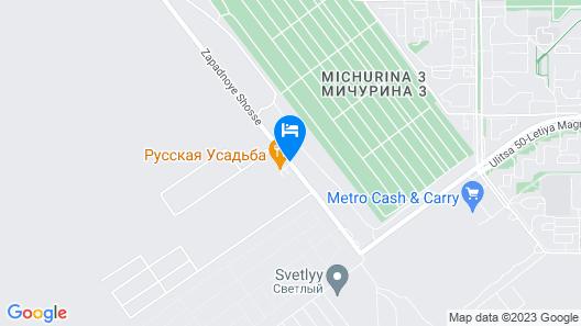 Russkaya Usadba Map