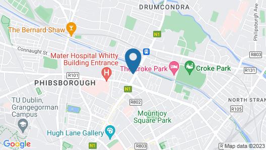 Dorset House Map