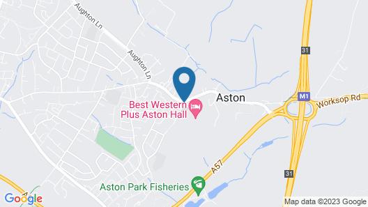 Best Western Plus Aston Hall Hotel Map