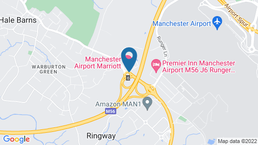 Manchester Airport Marriott Hotel Map