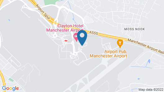 Crowne Plaza Manchester Airport Map