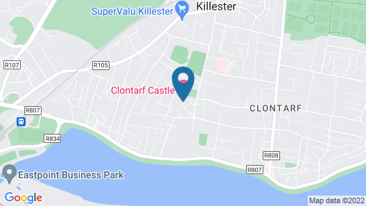 Clontarf Castle Hotel Map