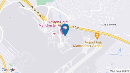 Clayton Hotel, Manchester Airport Map