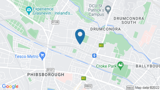 Abberley House Map