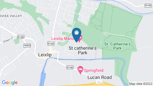 Leixlip Manor Hotel Map