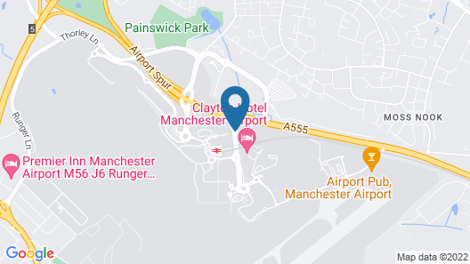 DoubleTree by Hilton Manchester Airport Map