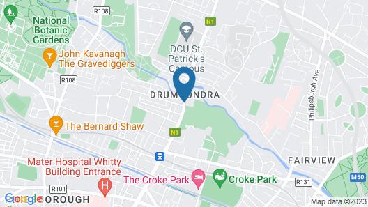 Kennedy's Pub Drumcondra Map