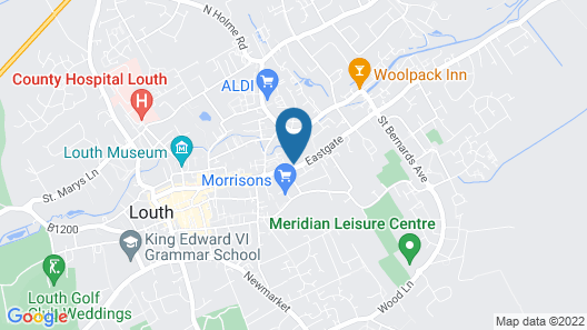 THE PRIORY HOTEL Map