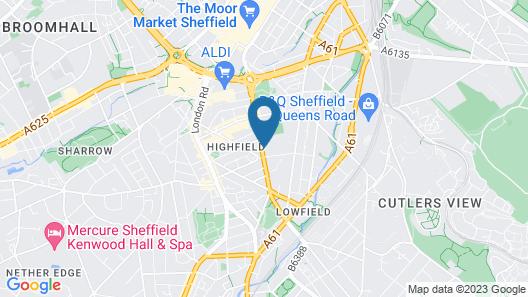 Copthorne Hotel Sheffield Map