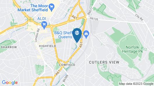 Royal Riverside Studios Map