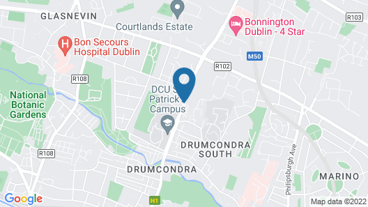 Dublin Skylon Hotel Map