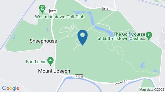 Luttrellstown Castle Resort Map