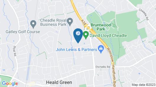 De Vere Cheadle House Map