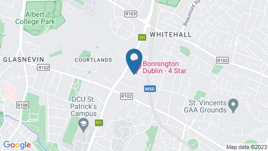 The Bonnington Dublin & Leisure Centre Map