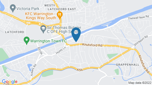 Warrington Fir Grove Hotel, Sure Hotel Collection by BW Map
