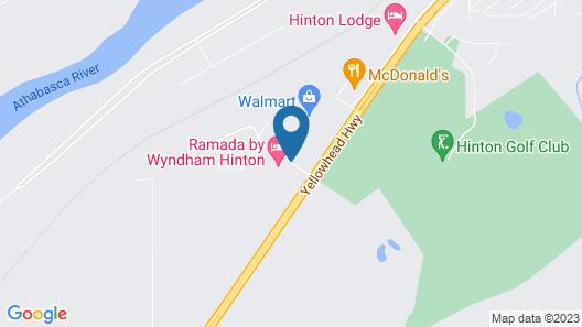 Ramada by Wyndham Hinton Map