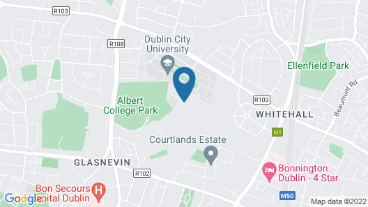 DCU Rooms ( University ) Map