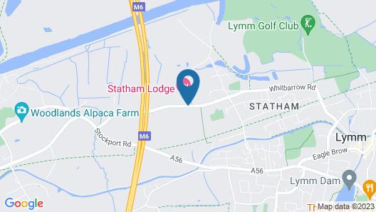 Statham Lodge Hotel Map