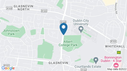 DCU Apartments Map