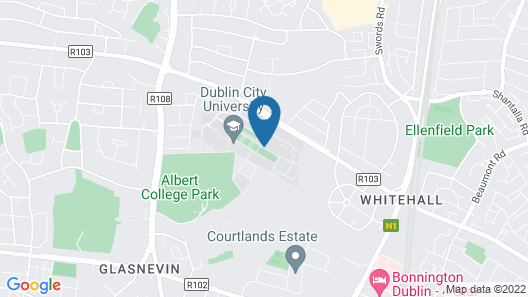 DCU Rooms Glasnevin Map
