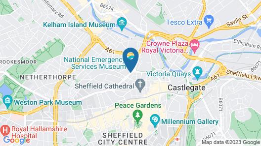 Hampton By Hilton Sheffield Map