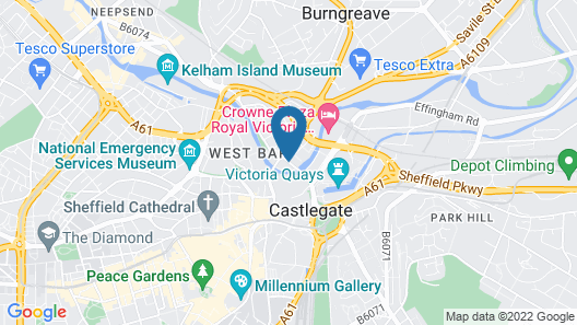 Homely Serviced Apartments - Blonk St Map