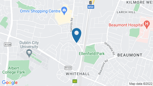FlyOver Bed and Breakfast Map