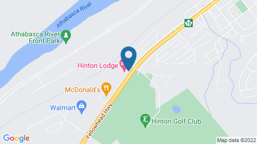 Hinton Lodge Map