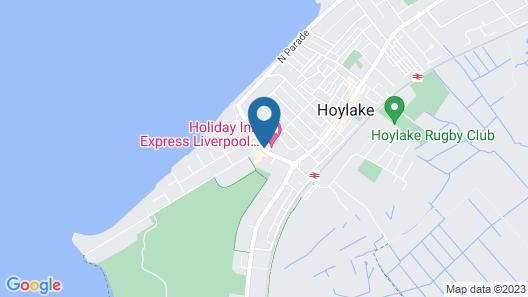 Holiday Inn Express Liverpool Hoylake Map