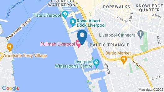 Pullman Liverpool Map