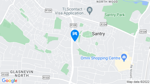 Travelodge Dublin Airport South Map
