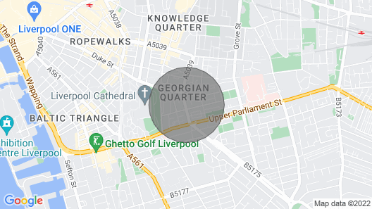 Large 2 Bedroom Georgian Quarter Apt Sleeps 6 Map