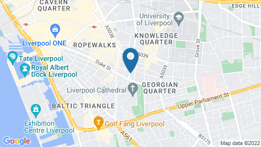 The L1 Rodney St Rooms Map