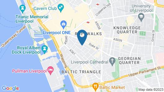 Chavasse Apartments Map
