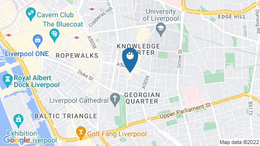 Relax By MPH-70 Chic Studios In Prime Liverpool Map
