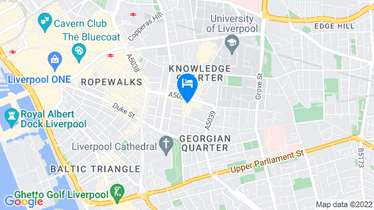 Hope Street Hotel Map