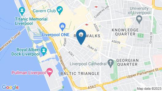 Base Serviced Apartments - Duke Street Map