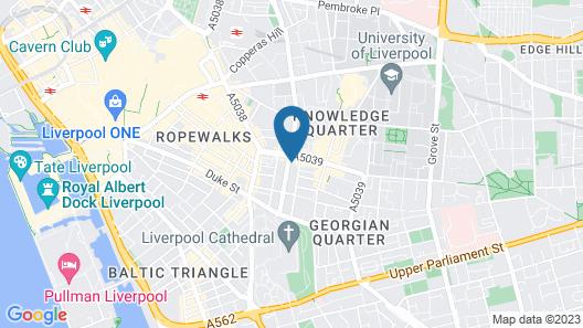 City Studios - Rodney Street Map