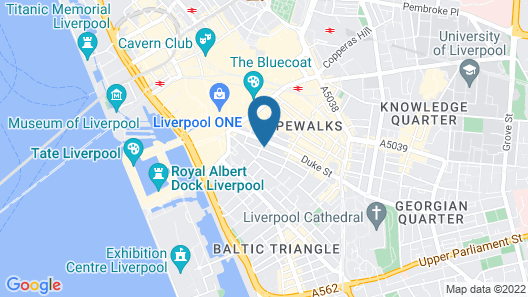 York Street Studios Map