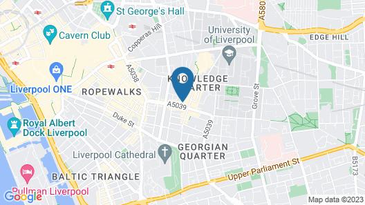 International Inn Map