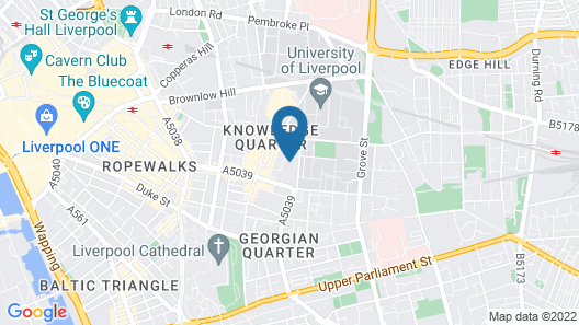 Popup Liverpool Map