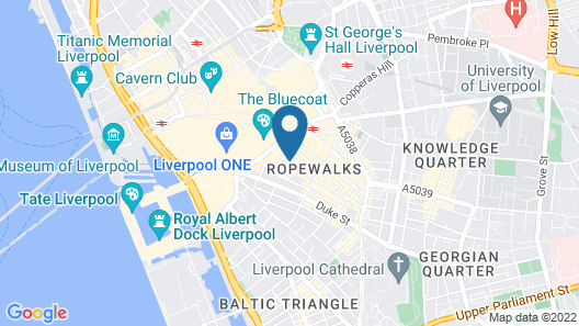 The Resident  Liverpool Map