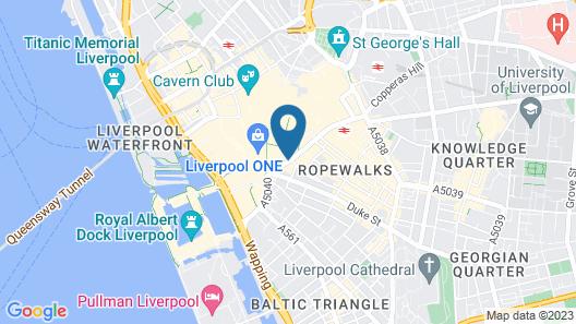 Novotel Liverpool Centre Map