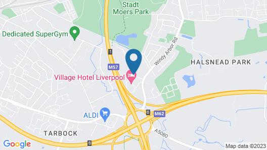 Village Hotel Liverpool Map