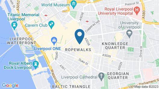 iStayLiverpool Bold Street Map
