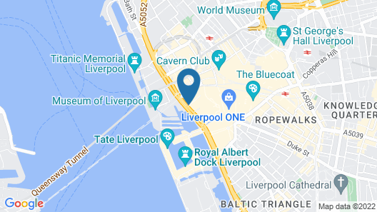 Travelodge Liverpool Central The Strand Map