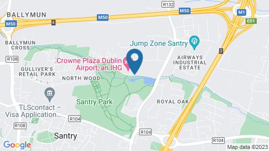 Holiday Inn Express Hotel Dublin Airport Map