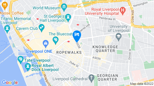 Printworks Hotel Map