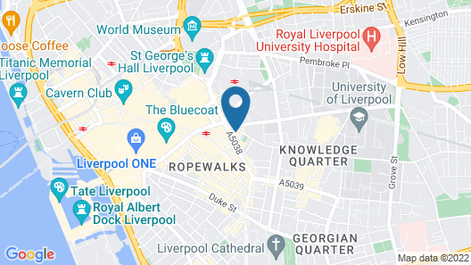 Brownlows Inn Map