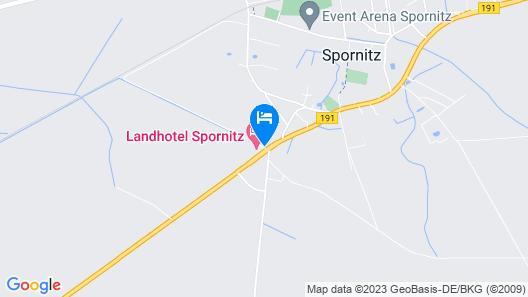Van der Valk Landhotel Spornitz Map